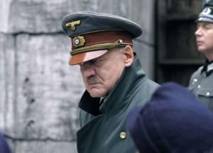 Bruno Gantz as Hitler
