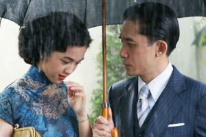 Newcomer Wei Tang and Tony Leung