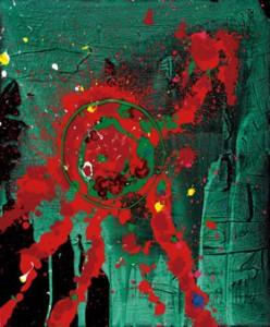 blood-line - John Hoyland R.A.