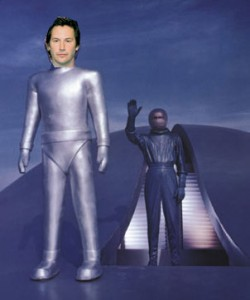 you say Klaatu I say Keanu, let's call the whole thing off